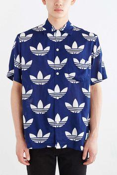 Aloha. #buttondown #shirt #menswear #fashion #adidas