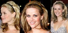 Headbands CAN be chic. The Small Things Blog: Reese Witherspoon Inspired Holiday Hair Tutorial