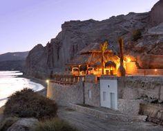 Santorini Sunset Beach Bar Wedding Ceremony and Reception