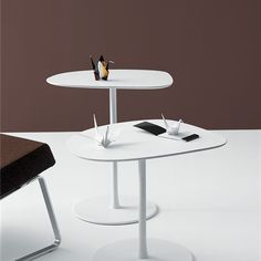 Mixit side tables    Own World  5 year structural warranty  white in stock or 6 week lead time as of July 2018