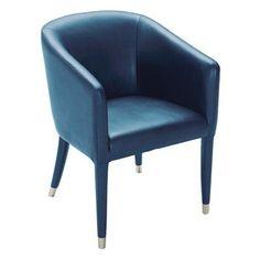 Sunpan Marcus Arm Chair Turquoise - 100970