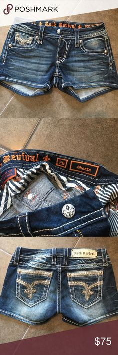 Rock revival shorts Rock revival shorts Rock Revival Shorts Jean Shorts
