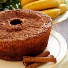 Dena Interiores  : Bolo de Banana -Receita