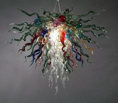 Glass Chandeliers, Pendants, and Sconces by Ed Pennebaker / Red Fern Glass