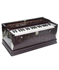SG Musical-HARMONIUM~BASS/MALE~REEDS~DOUBLE BELLOW 3 1/4 OCTAVE- WITHOUT STOPPER