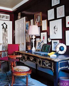 LOVE. From Elle Decor.