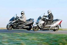 Maxi Scooters - Honda & Kymco::