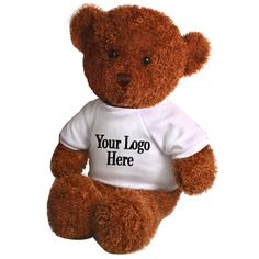 Custom baby gifts with personalized teddy bears teddy bears huggable teddy bear bulk custom available in 3 colors personalized teddy bears gifts negle Images