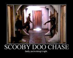 Scooby doo chase
