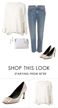 """""""Untitled #268"""" by inlateautumn ❤ liked on Polyvore featuring Roger Vivier, URBAN ZEN, CÉLINE and Acne Studios"""