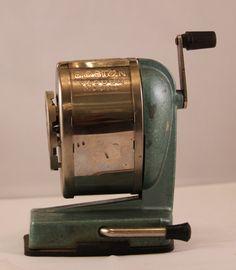 Vintage Pencil Sharpener  Boston Vacuum Mount by rearchitect, $20.00