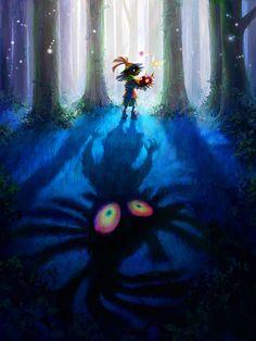 Poster of the #SkullKid from The Legend of #Zelda: #MajorasMask
