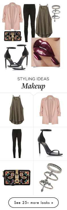 """""""???"""" by dominiquemedici on Polyvore featuring River Island, Yves Saint Laurent, prAna, Miss Selfridge and Dolce&Gabbana"""