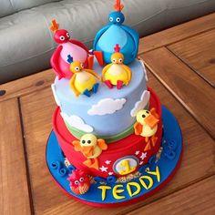 Twirlywoos Cake, Diy Cake, Cupcake Cakes, Cupcakes, Cbeebies Cake, Baby 1st Birthday Cake, Twins 1st Birthdays, Occasion Cakes, Cakes For Boys