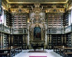 General Library of the University of Coimbra by Candida Höfer.