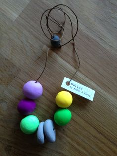 Hey, I found this really awesome Etsy listing at http://www.etsy.com/listing/156124935/ballze-hand-crafted-clay-bead-necklace