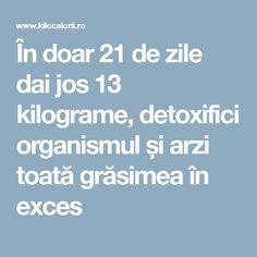 În doar 21 de zile dai jos 13 kilograme, detoxifici organismul și arzi toată grăsimea în exces Metabolism, Plants, Plant, Planting, Planets