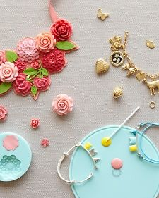 The new jewelry line from Martha Stewart Crafts makes it easy to fashion a piece that speaks volumes about your style. See what we are crafting. #marthastewartcrafts #mscjewelry