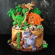 New Ideas Birthday Kids Food Sugar Dinosaur Birthday Cakes, Dinosaur Cake, Birthday Cupcakes, Birthday Kids, Dinosaur Pics, Fondant Cakes, Cupcake Cakes, Cake Recipes For Kids, Cakes For Boys