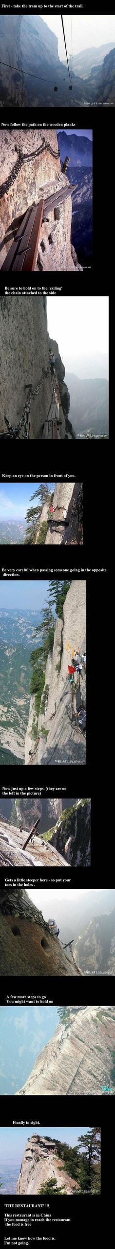 China-restaurant-mountains. Just a thought! What if it were closed!!!