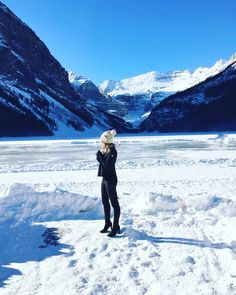 Invited to the Audi World Cup by Willow Park Wineries for the weekend at the Fairmont Chateau Lake Louise was a dream. A beautiful, quick escape to our backyard in the mountains made for the pe… Yeezus Kanye, Kendall, Kylie, Fairmont Chateau Lake Louise, Canadian Rockies, Winter Snow, Moncler, Calgary, Lbd
