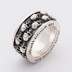 26 Best Bague Homme Mens Rings French Images Silver Skull Ring