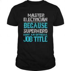 Master electrician Shirt - #polo #cool tshirt designs. ORDER HERE => https://www.sunfrog.com/Jobs/Master-electrician-Shirt-Black-Guys.html?60505