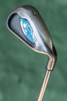 Callaway Steelhead X-16 single 7 iron - used single iron golf club  #Callaway