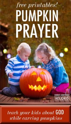 Free Pumpkin Prayer