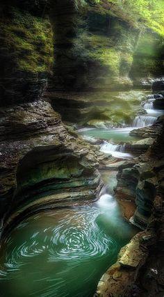 "'The Whirlpool"" - Watkins Glen State Park, New York   Fine Art America"