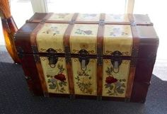 Beautifully painted trunk