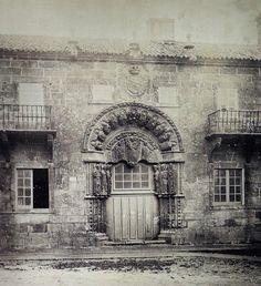 Colexio San Xerome. Praza do Obradoiro. Fotos antigas de Santiago de Compostela