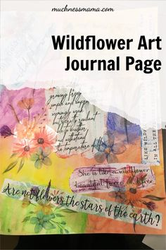 Come learn how to make this beautiful page in The Sheros Journey course! Artist Journal, Art Journal Pages, Art Journaling, Digital Journal, Scripture Study, Creative Activities, Guided Meditation, Art Tips, Betrayal