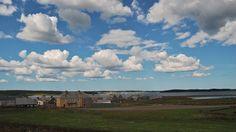 Landscape image of Louisbourg, Cape Breton Cape Breton, North America, Track, Clouds, Landscape, Outdoor, Image, Outdoors, Scenery