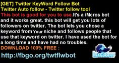 Download Twitter Imacro Bot For Free
