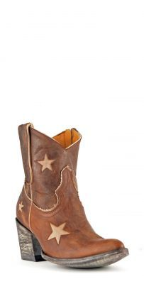 Womens Old Gringo Tristar Cowboy Boots Brass #L1258-12