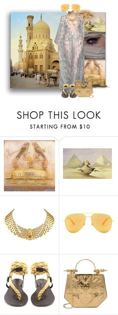 """Queen Of Cairo"" by the-house-of-kasin ❤ liked on Polyvore featuring Yves Saint Laurent, Julien Macdonald, Álvaro, Okhtein, MiddleEast and gownsgalore"
