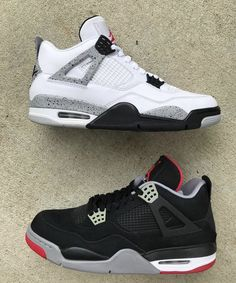 434c77d2aee9 White   Black Cement Air Jordan 4 s. Best of the Best.