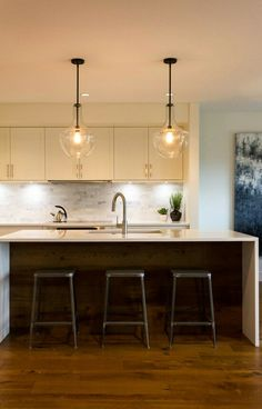 Pendant Ceiling Lights Kitchen Beautiful and affordable kitchen island pendant lights kitchen everly lights from kichler lighting a renovated home in vancouver desire to inspire workwithnaturefo