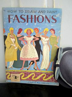 how to draw and paint fashsions