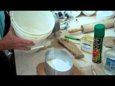 Making a two piece plaster mold - YouTube Just do it John Britt- Down and dirty plaster pouring, chunks and all.