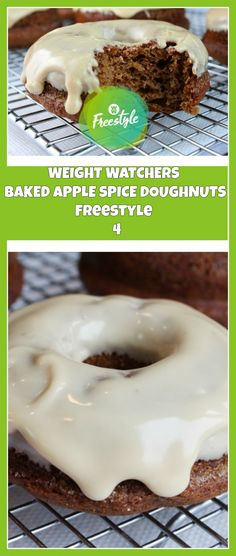 WEIGHT WATCHERS BAKED APPLE SPICE DOUGHNUTS | weight watchers cooking