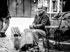 Streetly Smoking - #Galata Kulesi by BouchraDraouiPhoto on 500px #blackandwhite #monochrome #smoking