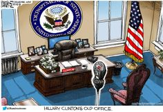 Artist's Impression Of Hillary Clinton's Old Office   Zero Hedge