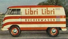 Vintage VW Bus Advertising