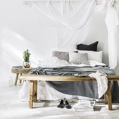 Wednesday dreaming.... @indiehomecollective Our luxe Bedouin Societe linen is restocked in store & online. #indieliving #indiehomecollective #bedouinsociete