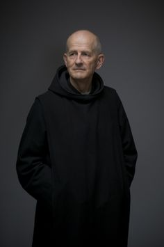 Father Herve, Benedictine monk from Palendriai