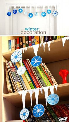Winter decoration – stylish, simple and very easy to make. You can quickly make the shelves...