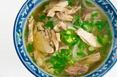 vietnamese chicken noodle soup (pho ga) - tasted great but be sure you know exactly how much 80g of rock sugar is, don't eyeball it!