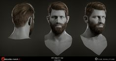 ArtStation - Gears of War 4 Hair, Shifally Rattan